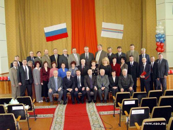 Руководители области с депутатами Законодательного Собрания трех созывов