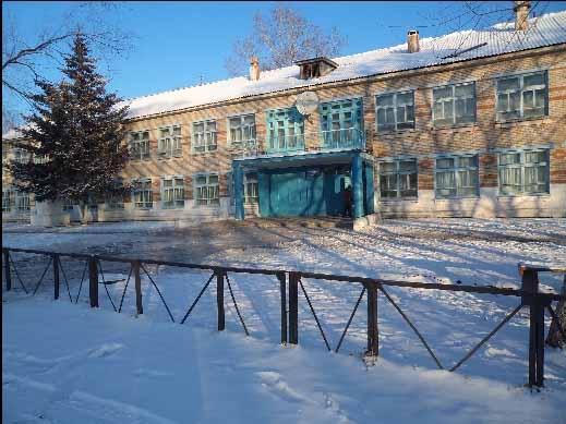 В школе Екатерино-Никольского начался масштабный ремонт