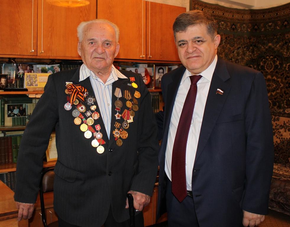 В. Джабаров: Ветераны – это хранители исторической памяти