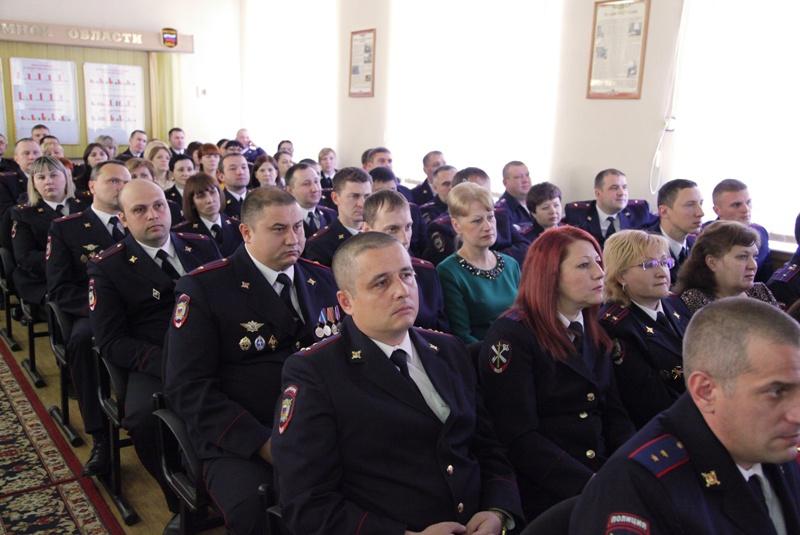 Сотрудникам областного Управления МВД России вручены награды парламента ЕАО