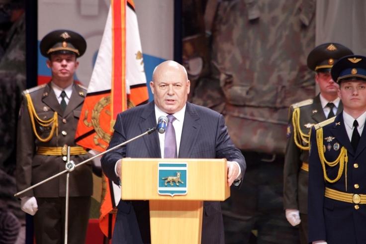 А. Тихомиров: Наши воины – в числе лучших в Восточном военном округе