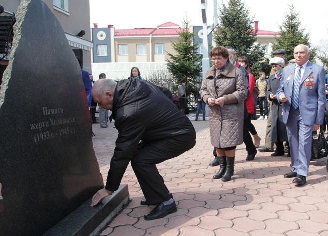 В. Тарасенко: Мы не имеем права забывать о Холокосте