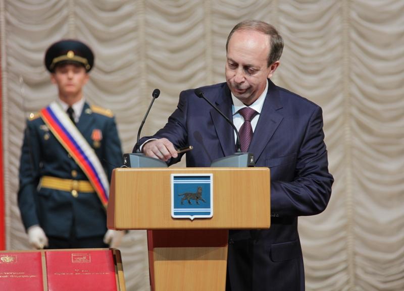А. Левинталь вступил в должность губернатора ЕАО