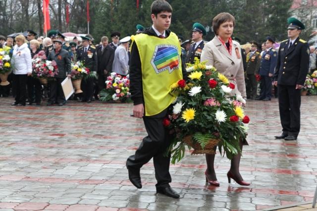 В области отметили День Победы