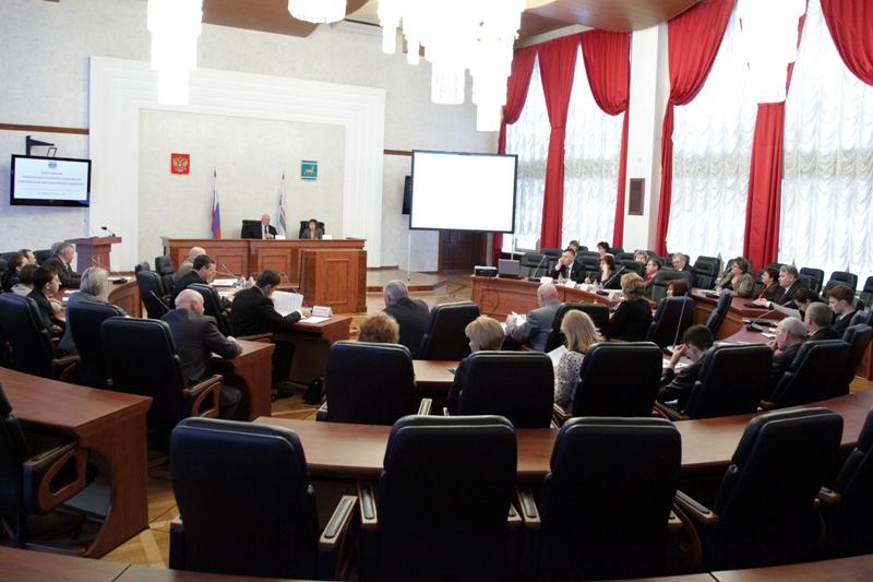 Состоялось очередное заседание Законодательного Собрания ЕАО