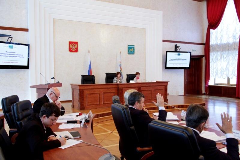 Состоялось очередное заседание областного парламента