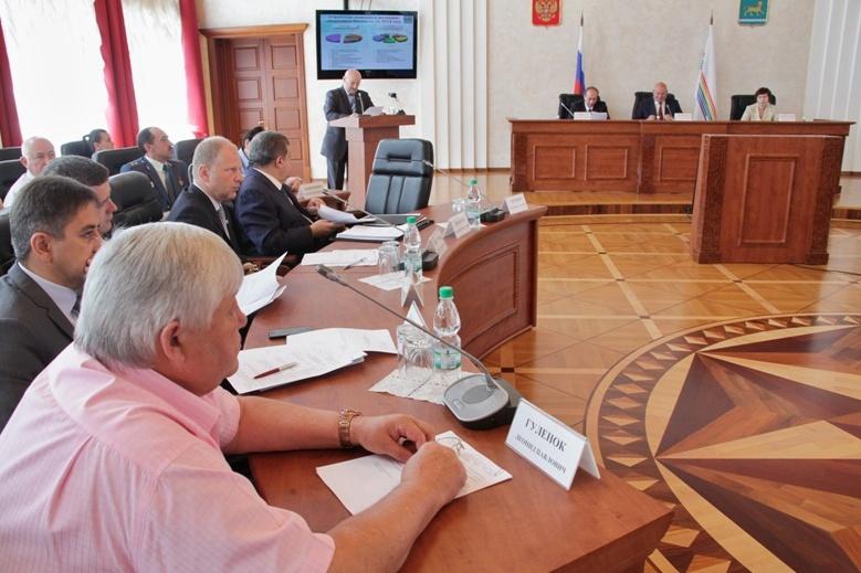 Правительство ЕАО отчиталось перед депутатами