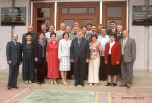 Визит членов Совета Федерации в ЕАО, 06.08.2003