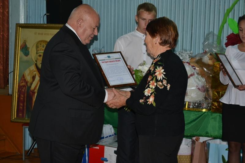 А. Тихомиров поздравил жителей Надеждинского с юбилеем села