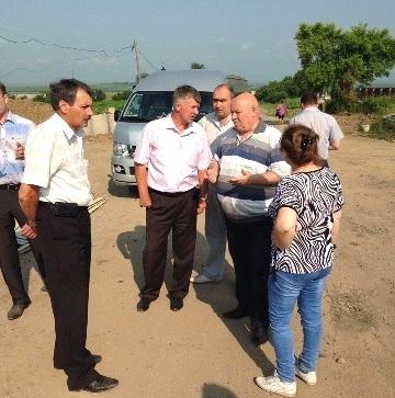 А. Тихомиров выехал в районы ЕАО