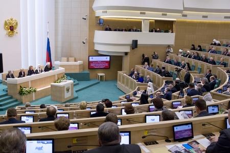 В Совете Федерации прошли первые Рождественские парламентские встречи