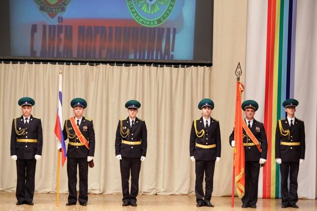 В ЕАО отмечают 95 лет Пограничной службы России