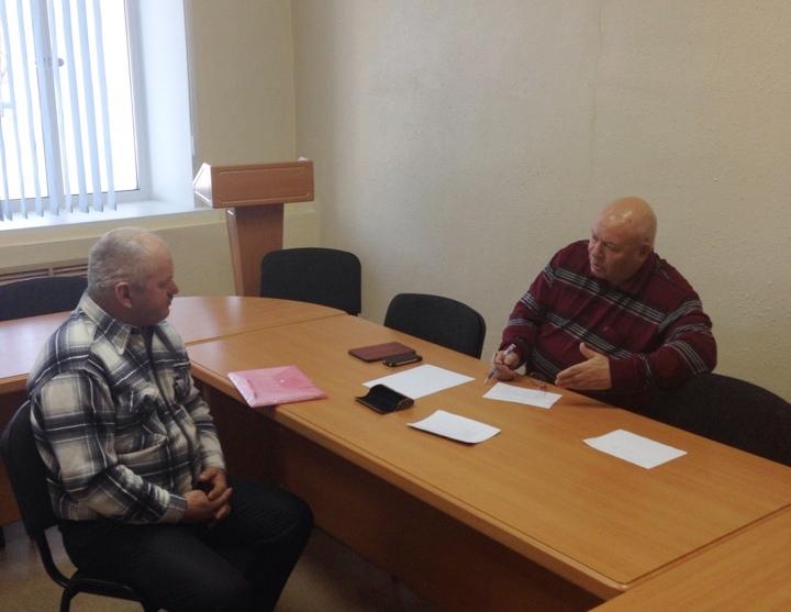 А. Тихомиров провел прием граждан