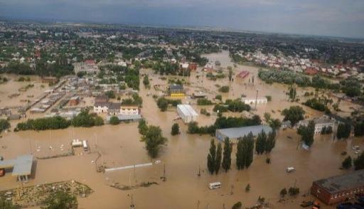 Область помогает пострадавшим от наводнения