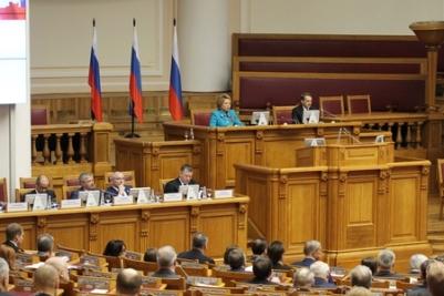 А. Тихомиров принял участие в заседании Совета законодателей России
