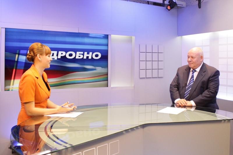 А. Тихомиров дал интервью ГТРК «Бира»