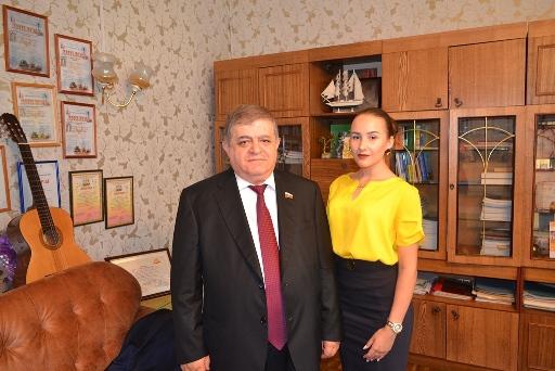 В. Джабаров встретился с жителями Облученского района