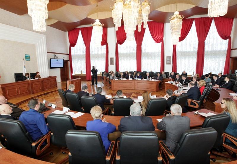 Состоялось заседание Законодательного Собрания