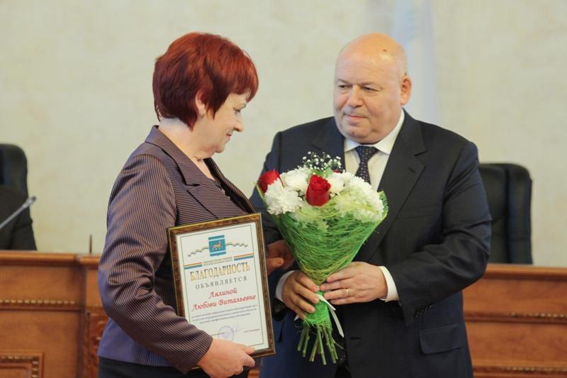 Работники АПК получили награды областного парламента