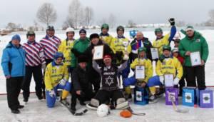 Хоккей ветераны2013