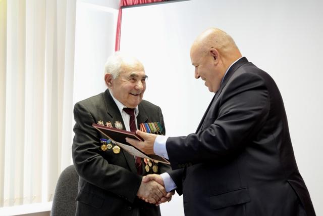 Почетный гражданин ЕАО С.Ю. Баселин отмечает 90-летие