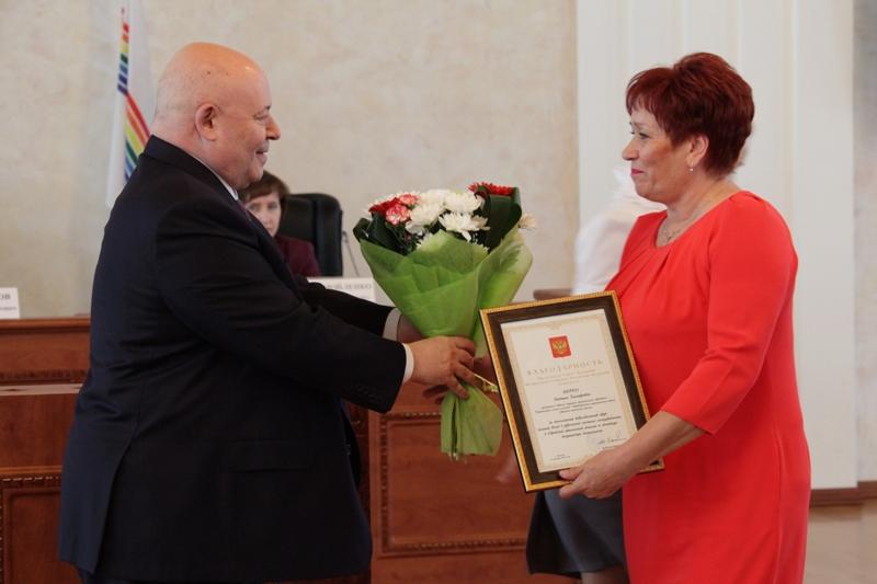 Вручены награды Совета Федерации и парламента ЕАО