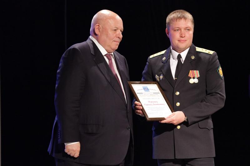 Пограничники получили награды парламента ЕАО