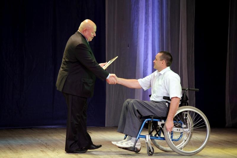 Общество инвалидов отметило 25-летие