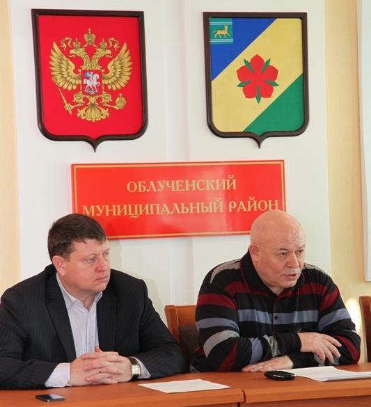 А. Тихомиров проводит встречи в Облученском районе