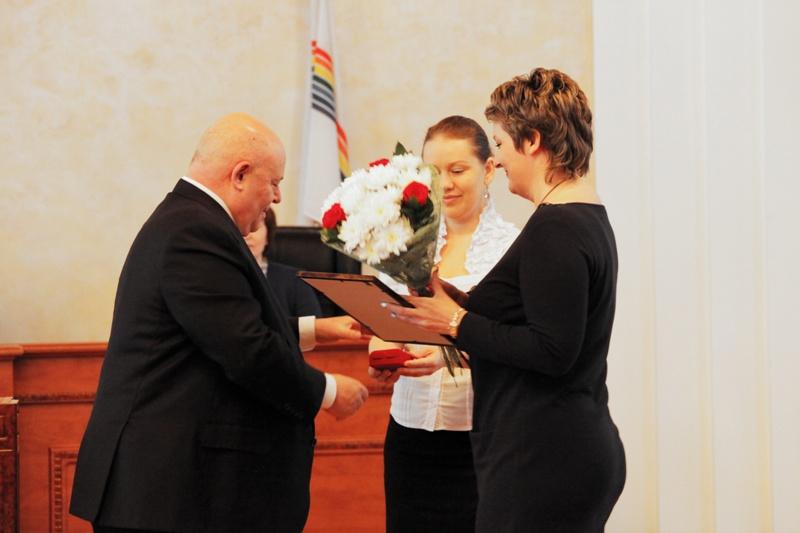 Вручены Почетные грамоты Совета Федерации