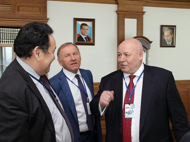 В. Матвиенко встретилась с главами региональных парламентов РФ