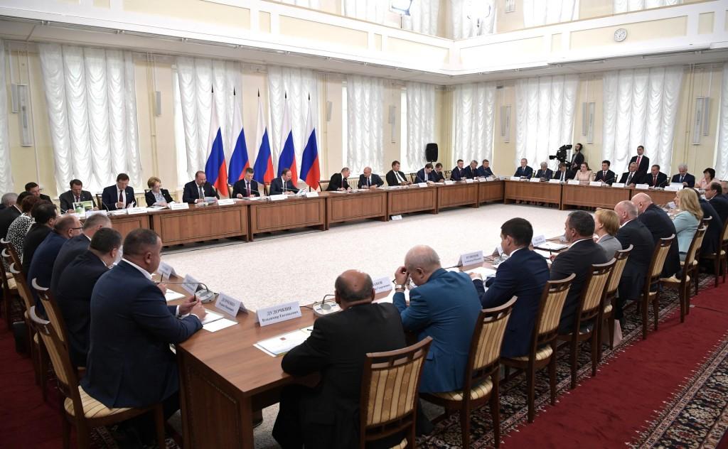 Л. Павлова приняла участие в Совете при президенте РФ