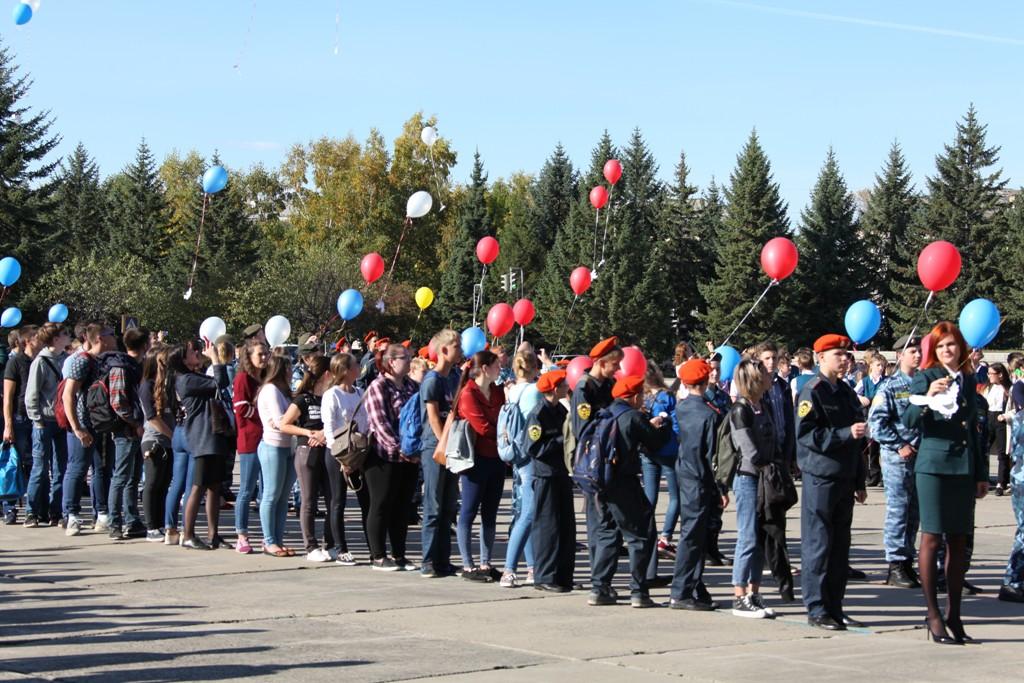 Активисты ОМП стали участниками акции «Голубь мира»