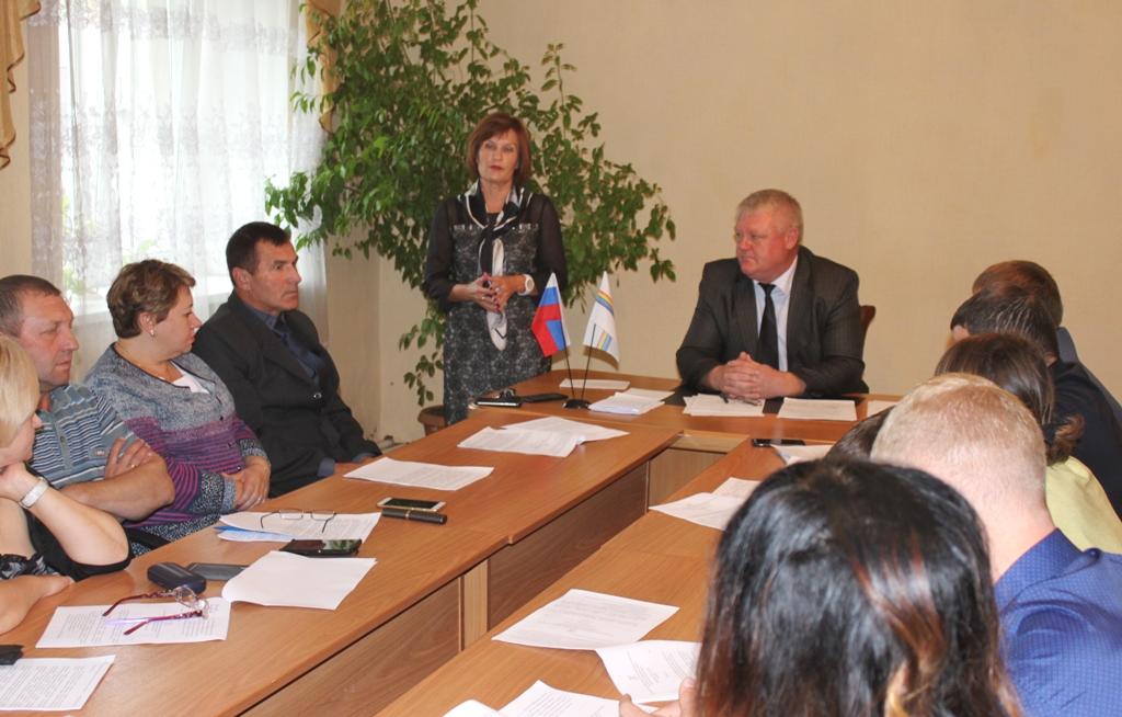 Л. Павлова побывала с рабочей поездкой в Облученском районе