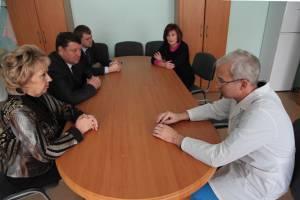 Л. Павлова: Облученская больница должна работать эффективно