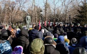Л. Павлова: Люди не забудут тех, кто погиб за них