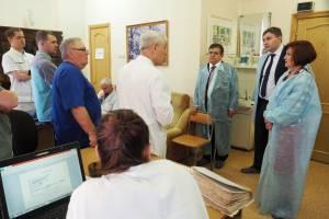 Л. Павлова и В. Джабаров встретились с врачами ЕАО