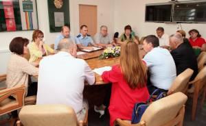 Состоялось заседание рабочей группы по реализации послания Президента