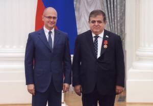 В. Джабаров награжден орденом Александра Невского