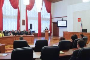 Л. Павлова приняла участие в подведении итогов ВЭФ