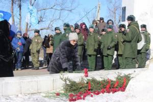 В ЕАО отметили годовщину Волочаевского боя