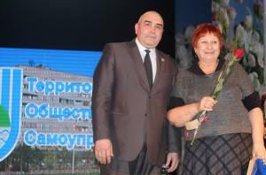 Активистам ТОС вручены награды парламента области