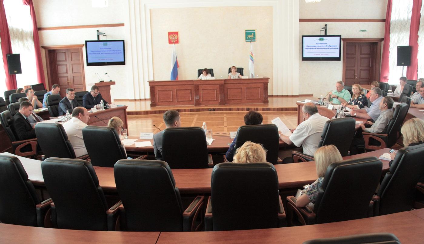 Состоялось очередное заседание Законодательного Собрания