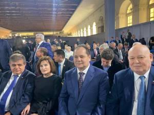 Делегация ЕАО приняла участие в оглашении Послания Президента России Федеральному Собранию РФ