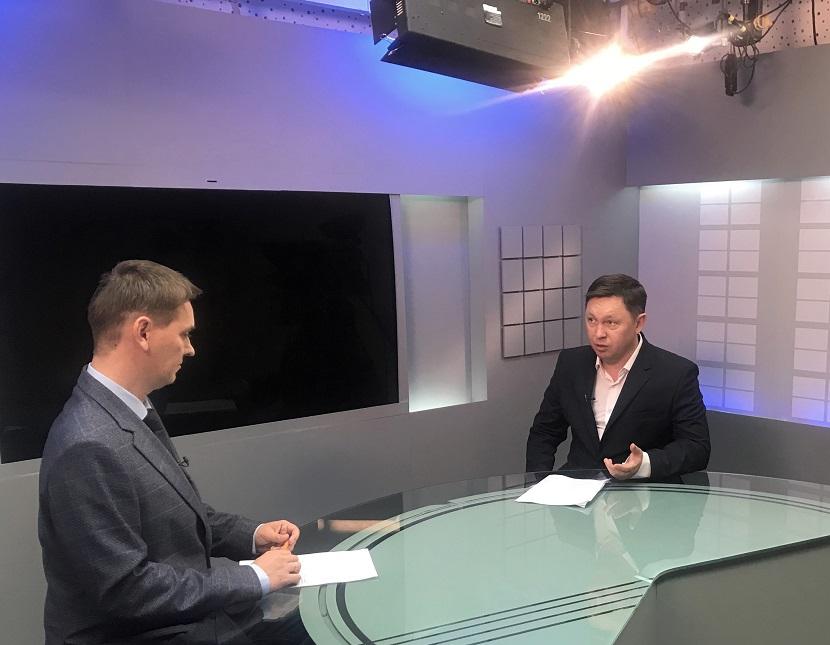 Роман Бойко дал интервью ГТРК «Бира»