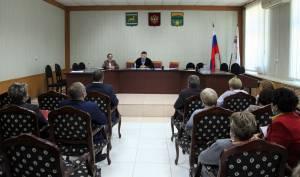В. Бойко встретился с депутатами Ленинского района